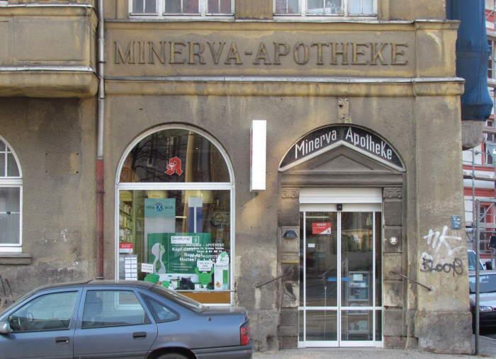 Minerva-Apotheke in Wahren