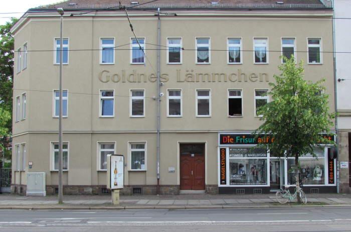 Goldnes Lämmchen
