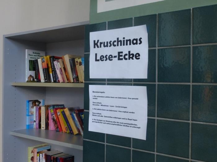 Kruschinas Lese-Ecke
