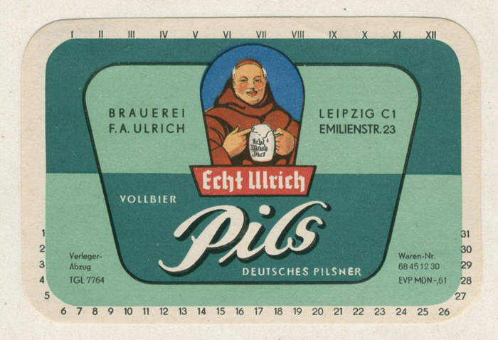 Cerveza tipo pilsen Ulrich