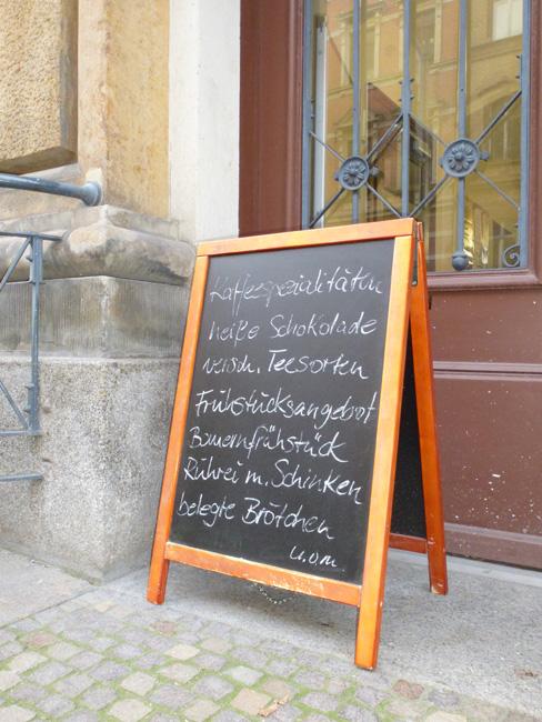 """""""Bauernfrühstück"""" por 2,90 euros"""