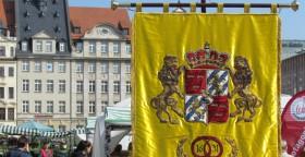 Die Schwedenfahne der Leipziger Bäcker