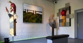 Streichholz in der Galerie