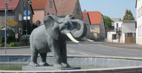 Der Elefant von Kühren