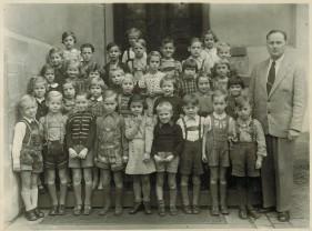 Eine Klasse der Richard-Wagner-Schule, Mitte der 1950er