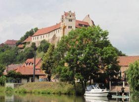 Wettiner Burg im Juli 2016