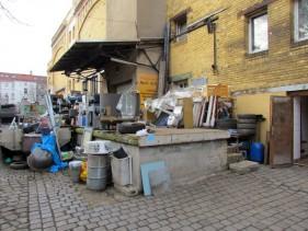 Rampe der ehemaligen Eisfabrik