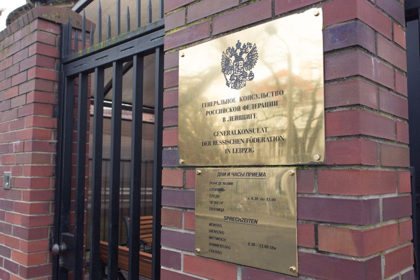 Russische Konsulat Leipzig