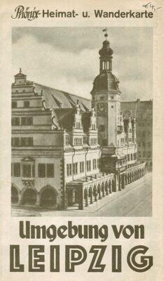 Phönix-Heimat- und Wanderkarte, frühe 1950er Jahre