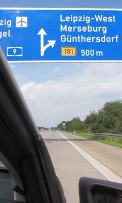 Start und Ziel: Leipzig-West