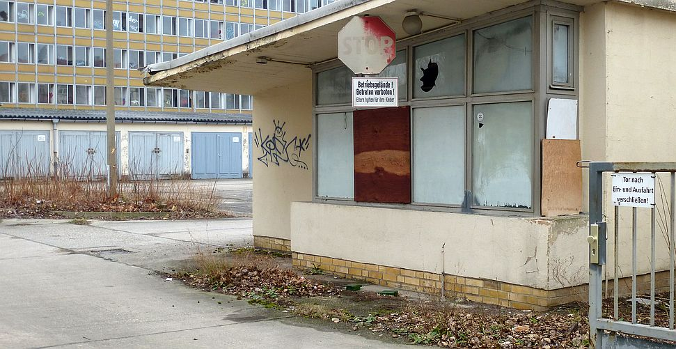 Pförtnerhäuschen in Leipzig