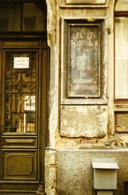 Schilbachs Klosettfabrik, Davidstraße 11, 1980er oder 1990er Jahre