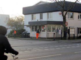 Pförtnerhäuschen von SERO / ALBA in der Rückmarsdorfer Straße