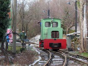 Museumsfeldbahn am Lindenauer Hafen