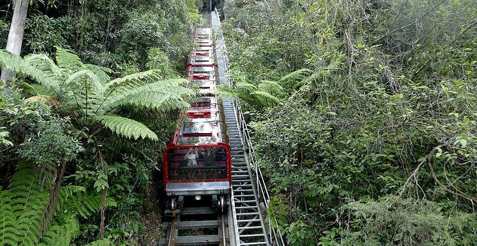 Die angeblich steilste Eisenbahn der Welt