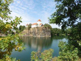 Postkartenmotiv: Bergkirche in Beucha