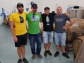 """Zu Besuch bei den Ek-Brüdern in deren Brauerei """"Brekeriet"""" in Landskrona, Schweden"""