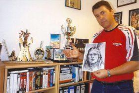 Jens Rübner in seinem Filmzimmer (Foto: privat)