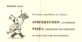 Wo war die Pizzeria