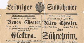 Der Sühneprinz im Stadttheater