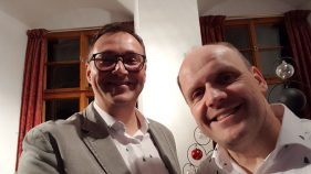 André Kudernatsch und Andreas Groß (Foto: Brenda Fox)