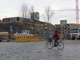 Die Thalysia-Werke im Dezember 2016, Koch- / Ecke Scheffelstraße