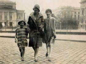 Lisa, Elsa und Pia Kiehle - elegante Leipzigerinnen in den 1920er Jahren