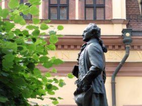 Während seiner Leipziger Zeit war auch Goethe ein junger Lyriker